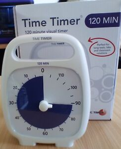 Time Timer Plus 120 min Great for Time management and Autism