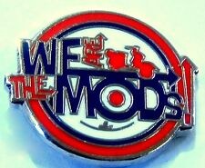 We Are The Mods Motif Mod /Scooter/ Quality Enamel Lapel Pin Badge