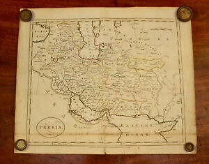Rare C18th Map, Jackson Edn of Paynes Universal Geography, Persia 1794