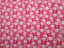 Millie in Red. Liberty Rossmore Cotton Cord, 1.00 Metre