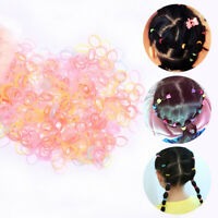 1000PCS Disposable Rubber Band Elastic Headband Girls Ponytail Hair Ring
