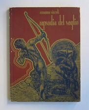 Ermanno Viezzoli Rapsodia del Vaglio Trieste 1935 Futurismo De Carolis Sartorio