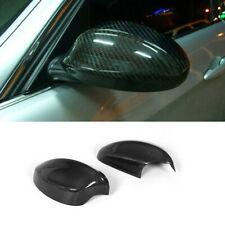For BMW E90 325i 328i 330i 335i 06-08 Side Mirror Covers Cap Carbon Fiber 2PCS