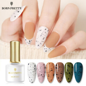 BORN PRETTY 10/6ml Eggshell Gel Nail Polish Transparent With Any Color Base DIY