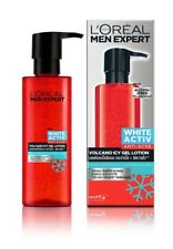 L'OREAL Men White Activ Anti Acne to Deal Pimples Volcano Icy Gel Lotion 120 ml