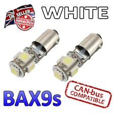 Cayman 987 05-13 Bright White Canbus LED Side Light 5 SMD Bulbs 434 H6W