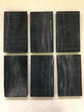 Schwarzes Ebenholz | Ebony | Drechselholz | Tonholz | Tonewood | 150 x 85 x 15mm
