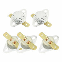 5Pcs NC Ceramic Temperature Switch Thermostat 155 Degree Celsius KSD301