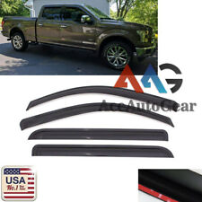 For 2017-2018 Ford F-250 F-350 Super Duty SuperCrew Crew Cab Window Visor Guard