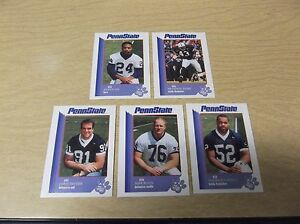1997 PENN STATE NITTANY LIONS SECOND MILE FB CARD SHAWN LEE