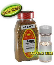 TACO SEASONING NO SALT, FRESH NATURAL PURE SPICES
