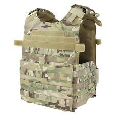 Condor 201039 Tactical MOLLE Gunner ESAPI Plate Carrier Assault Vest Multicam