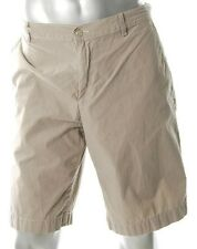 ALFANI BEIGE/KHAKI STRIPE SHORTS - SIZE 44 WAIST - IMPORTED FROM USA