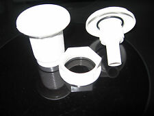 2pc NEW WHITE In-Ground SPA 1 inch Top Draw Air Control System P/N 25098-000-000
