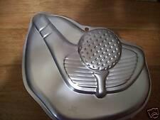 1998 Retired Wilton Tee It Up Golf Cake Pan Brand New