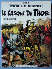 ERIK LE VIKING LE CASQUE DE THOR (DON LAWRENCE)  EDITION ORIGINALE TBE