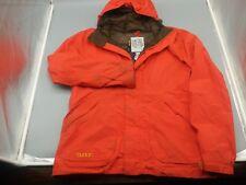 Burton Goretex Outlast Men's Orange Ski Snowboard Jacket Size Large