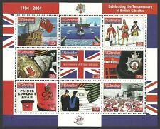 British Territory Sheet Gibraltarian Stamps