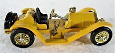 MATCHBOX LESNEY TOY 1913 YELLOW MERCER RACEABOUT TYPE 35J IN BOX MINT