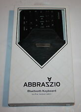 ABBRAZZIO Bluetooth Keyboard  WITH Sleeve for iPad, Tablets , PS3 , SmartPhones