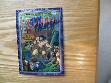 1996 CONAN THE MARVEL YEARS CHROMIUM CARD # 52 SIGNED TOM PALMER, WITH POA