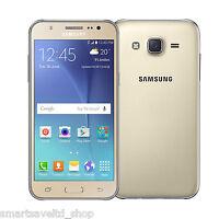 NEW SAMSUNG GALAXY J5 J500H DUAL SIM **4G LTE** 8GB GOLD UNLOCK Smartphone 2016