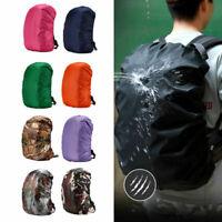 Dust Rain Cover Waterproof Backpack Travel Rucksack Outdoor Hiking Camping Bags