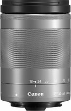 Canon Telephoto Zoom EF-M18-150mm F3.5-6.3 IS STM Silver for Mirror Less New