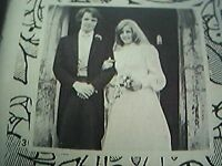 ephemera 1974 kent wedding picture k d lowry susan beal the keep hadlow