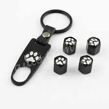 Tire Tyre Valve Auto Key Chain Accessory Air Cap Covers For Footprint Styling