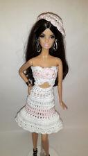 """Vestido y Gorro, Ropa Barbie, Fashion Royalty, Poppy Parker, Dolls 12"""" New"""