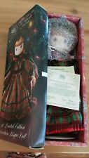 "Precious Moments Enesco Bisque Doll ""May You Have An Old Fashioned Christmas"" 91"