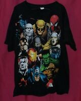 MARVEL  COMIC  T- SHIRT. SIZE. L ( 42-44)  WITH MARVEL MAD  ENGINE TAG.