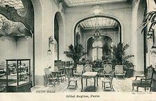 PARIS Hôtel Regina Petit Hall Ecrit à soldat du 29 ème Régiment Inf Le Creusot