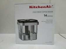 KITCHENAID COLD BREW COFFEE MAKER BRUSHED STAINLESS STEEL, 14 SERVINGS - SSS 603