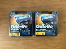 GILLETTE FUSION PROGLIDE BLADES 2 x 8 PACKS = 16 *FIT ALL FUSION STICKS*