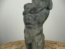 Männertorso Deko Torso Stein Figur Statue Garten Terrasse 16.24