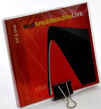 REO SPEEDWAGON LIVE plus CD DVD nuovo