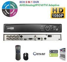 5-in-1 Penta-Brid HD 8CH Channel Standalone DVR auto Detect (CVI/TVI/AHD/Analog)