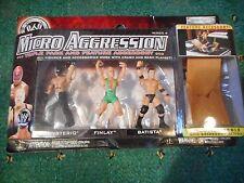 WWE 3 Figura confezione di Micro aggressione NUOVO IN SCATOLA