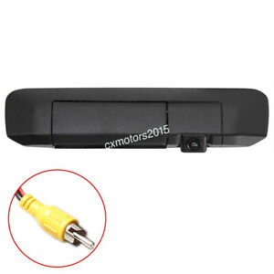 Tailgate Handle Rear View Reversing Camera For Toyota Tacoma 2005-11 12 13 14