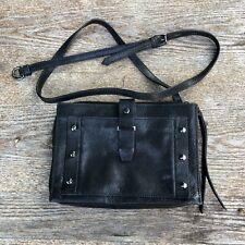 """Botkier Warren City Leather Crossbody """"Black"""" Shoulder Bag (USED)"""