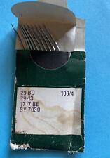 Nos 29bd 1004 Groz Beckert Sewing Needle Pk Of 10 Free Shipping