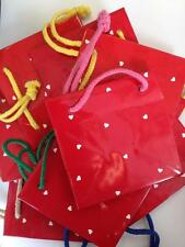 Wholesale Joblot 100 x Small Hallmark Heart Gift Bags