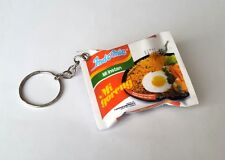 "INDOMIE Mi Goreng Fried Pack KEYCHAIN Keyring Novelty Indonesia 3D 2.25"" Wide"