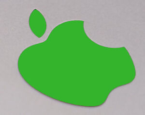 "Green Color Changer Logo Overlay for the new Apple Retina 12"" Macbook"