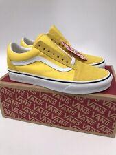 Vans Old Skool Skate Shoes (Women's 8.5 Men's 7) Vibrant Yellow