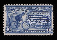 GENUINE SCOTT #E10a VF MINT OG NH 1916 CLASSIC BLUE COLOR PERF-10 UNWMK SCV $800