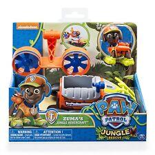 Spin Master Paw Patrol Jungle Rescue Personaggio con Veicolo Base Marshall