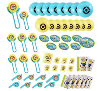 Despicable Me Minions Favor Pack 48pc Kids Birthday party Supplies Toys Piñata